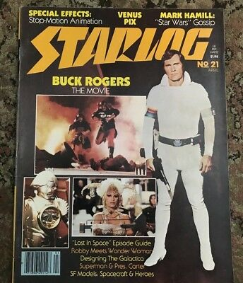Starlog Magazine - No. 21 April 1979 - Buck Rogers - Lost in Space episode guide