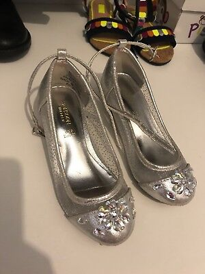 Monsoon silver Girls shoes