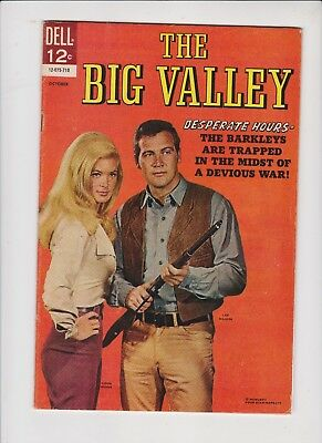 The Big Valley #12-075-710  #5  1967  Desperate Hours  Fn /fn+ Quality