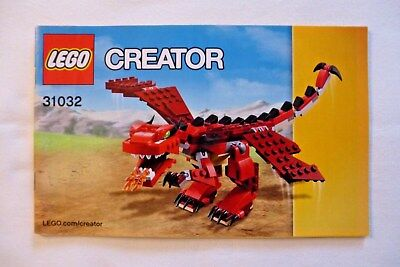 Lego 31032 Creator Instruction Manual 1 195 Picclick Uk