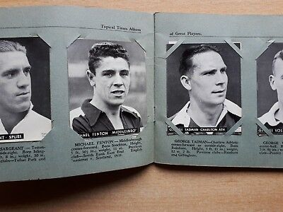 Topical Times Album Of Great Players Close Ups Of The Stars 1939 Complete Spurs