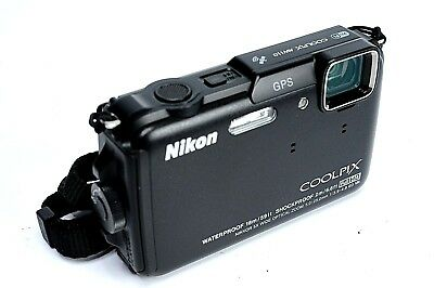 Nikon COOLPIX AW110 Waterproof Digital Camera Sold AS-IS w/ Charger and Battery