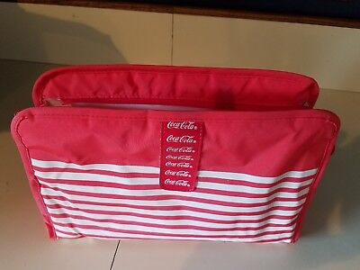 Coca Cola Zippered Lunch Cooler