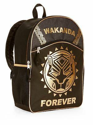 Marvel Black Panther Boys School Backpack Book bag Avengers Infinity war Kids
