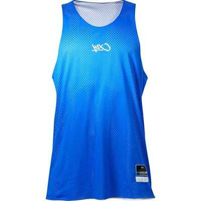 K1X Reversible Practice Basketball Jersey Bllue White