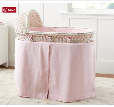 ***Bedding Only*** For Pottery Barn Bassinet