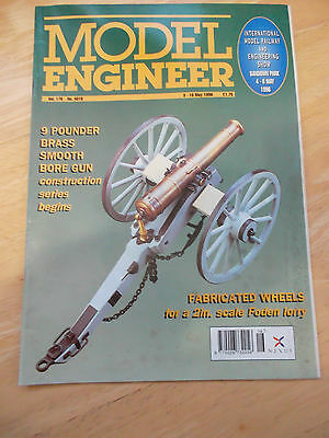 Model Engineer Mag #4016 May 1996 9 Pounder Brass Smooth Bore Gun Foden Lorry
