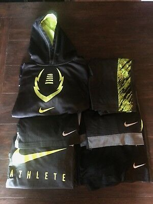 Nike Lot Of 6 Youth Boys Shorts Sweatshirts Shirts Large GUC