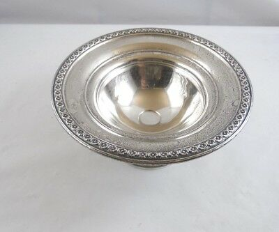 ANTIQUE PRE 1880's RODGERS STERLING SILVER #3040 PEDESTAL DISH