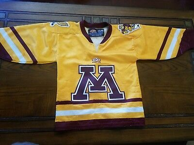 Youth MN Golden Gophers Football Jersey Y S/M