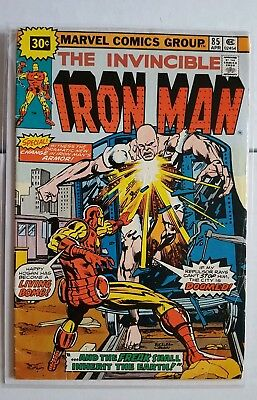 Iron Man #85 Bronze Age 30 Cent Variant Test Cover VG+