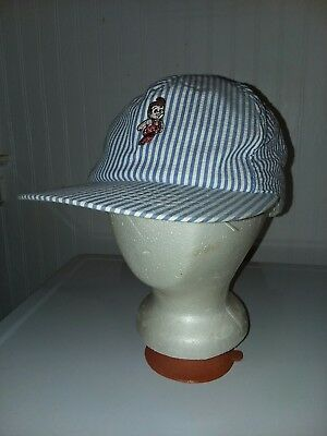 Vintage Bobs Big Boy Restaurant Elias Brothers Employee Hat Snapback Made in USA