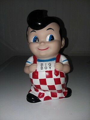 1992 Bob's Big Boy Coin Bank Displayed Only Condition With Stopper On Bottom