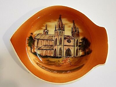 """Vintage Hand Painted Studio Anna Pottery Dish. """"Adelaide"""""""