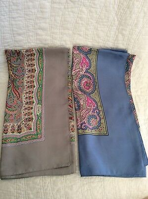 Liberty Of London Scarves Lot Of 2
