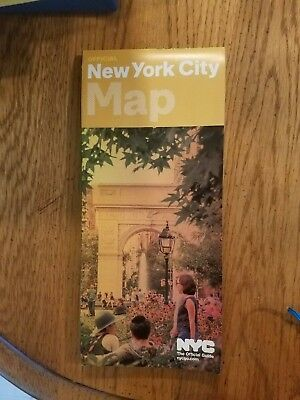 Official New York City NYC Visitor Tourist Map Guide June 2018 Free Shipping