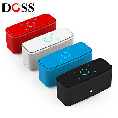 DOSS DS-1681 Portable Touch Wireless Bluetooth Stereo Speaker Mini Player Aux In