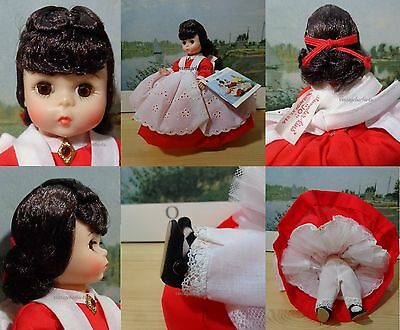 Vintage Madame Alexander Doll Jo #413 NEW Tagged w/ Original Booklet
