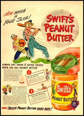 1949 vintage ad for SWift's Peanut Butter -356