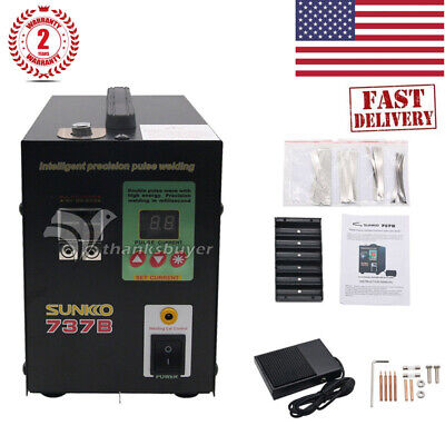 US 737B Spot Welder 1.5KW Paulse Welding Machine LED Light 18650 Battery Pack