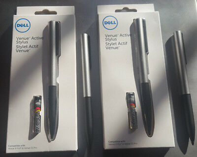 Dell Active Stylus For Dell Tablets Dell Venue 8 and 11 Pro 750-AAGN + 1 Extra