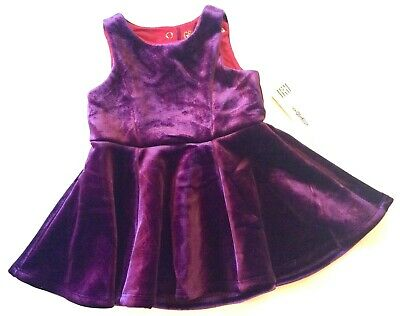 Nwt Genuine Kids From Oshkosh Girls 2 Piece Set Black Velvety Skirts Sparkle Sz 4t