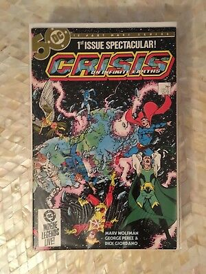 Crisis on Infinite Earths #1-12 Complete (Mar 1986, DC)