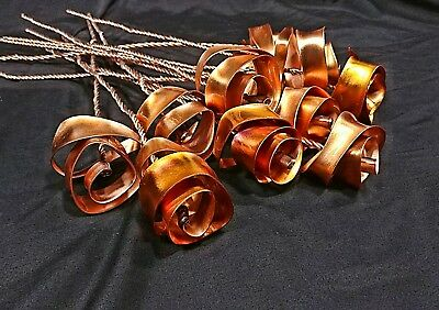 5 Bright Copper Forever Roses #813 Valentine's Mother's Day Housewarming Gift