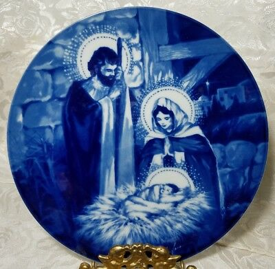Beautiful Collectors Plate The Holy Family Avon 1991 Source of Fine Collectibles