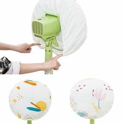 Electric Fan Anti-dust Cover Leaf Flower Printed Dust Proof Kids Baby Protector