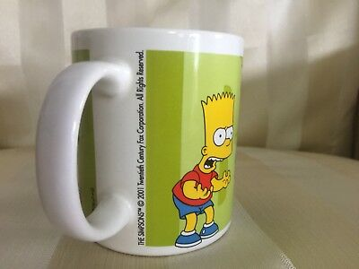 The Simpsons  2001 Coffee Mug