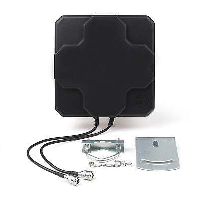 18dBi 4G LTE Antenna Outdoor Panel Dual MIMO N Female Signal Strength Booster B4