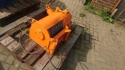 Big heavy duty Hydraulic winch