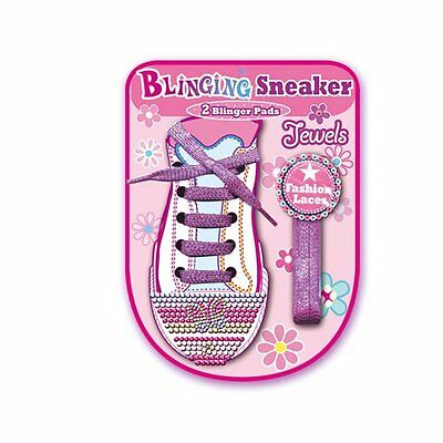 Blinging Sneaker Jewels and Sparkly Shoe Laces - IDEAL KIDS GIFT!!