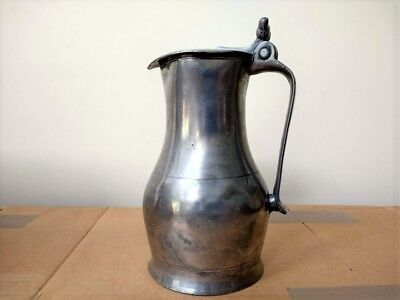 Cannel Islands (Jersey) Pewter Flagon