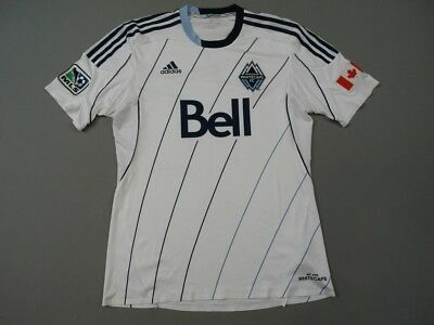 Vancouver Whitecaps 2013 Canada Player Issue Shirt Camiseta Adidas Adults Size L