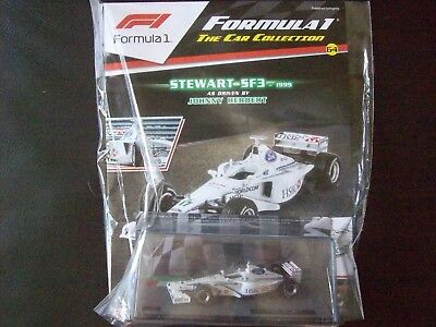 Formula 1 The Car Collection Part 64 Stewart SF3 1999 Johnny Herbert