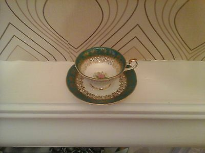 Vintage Queens Rosina China Tea Cup and Saucer