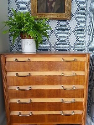 Antique Mid Century Small Chest of Drawers