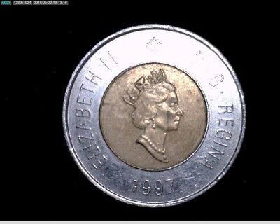 1997 $2 Canadian Coin #1X1012