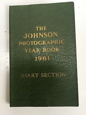 The JOHNSON Photographic Year Book 1961 - Excellent Condition