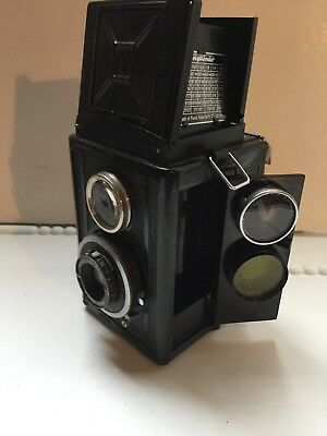 Voigtlander BRILLIANT Compur TLR Camera + Filters