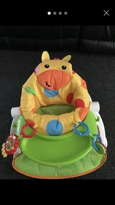 my first fisher price sit me up chair multicoloured , in immaculate condition