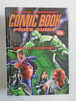 Overstreet Comic Book Price Guide HC #38A, 8.0/VF (2008)