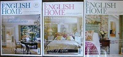 The English Home Magazine x3 back issues