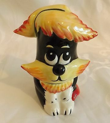 RARE Lorna Bailey Cat TINY QUIFFY Colourway 1 of 4 signed in Black