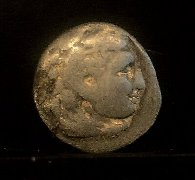 Alexander The Great Macedon Ancient Greek Silver Drachm Abydos Lifetime Issue