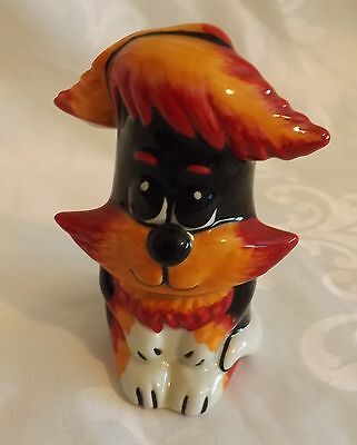 RARE Lorna Bailey Cat TINY QUIFFY Limited/Edition 3/50 signed in Red