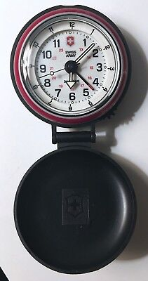 Swiss Army Watch By Victorinox Dual Time Travel Alarm Clock