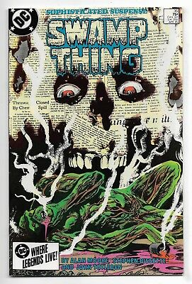 Swamp Thing 1985 #35 Fine/Very Fine Alan Moore